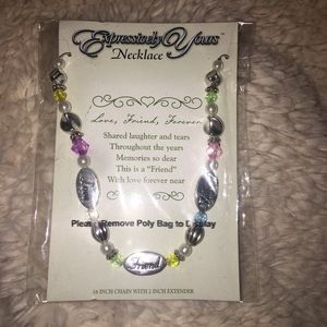 Expressively Yours Friend Necklace